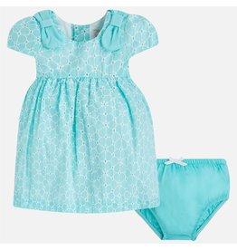 Mayoral SALE! Eyelet Lace Cap-Sleeve Baby Dress