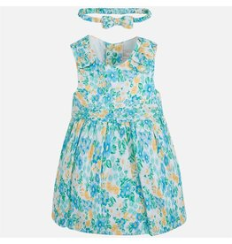 Mayoral SALE! Floral Sleeveless Dress
