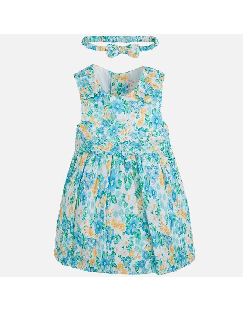 Mayoral SALE! Floral Sleeveless Dress