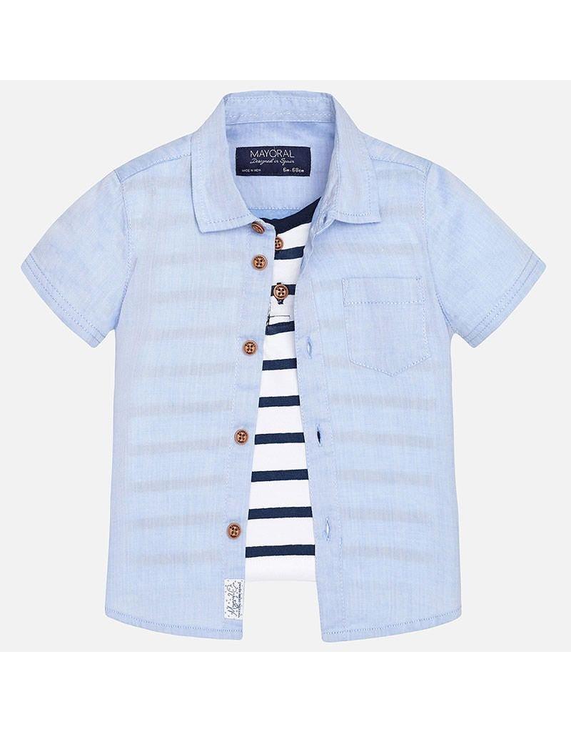 Mayoral Layered Nautical Shirt
