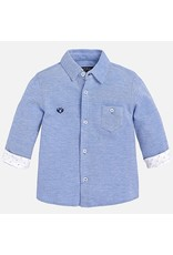 Mayoral Pique Cotton Baby Shirt
