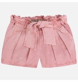 Mayoral Pleated Elastic Waist Shorts