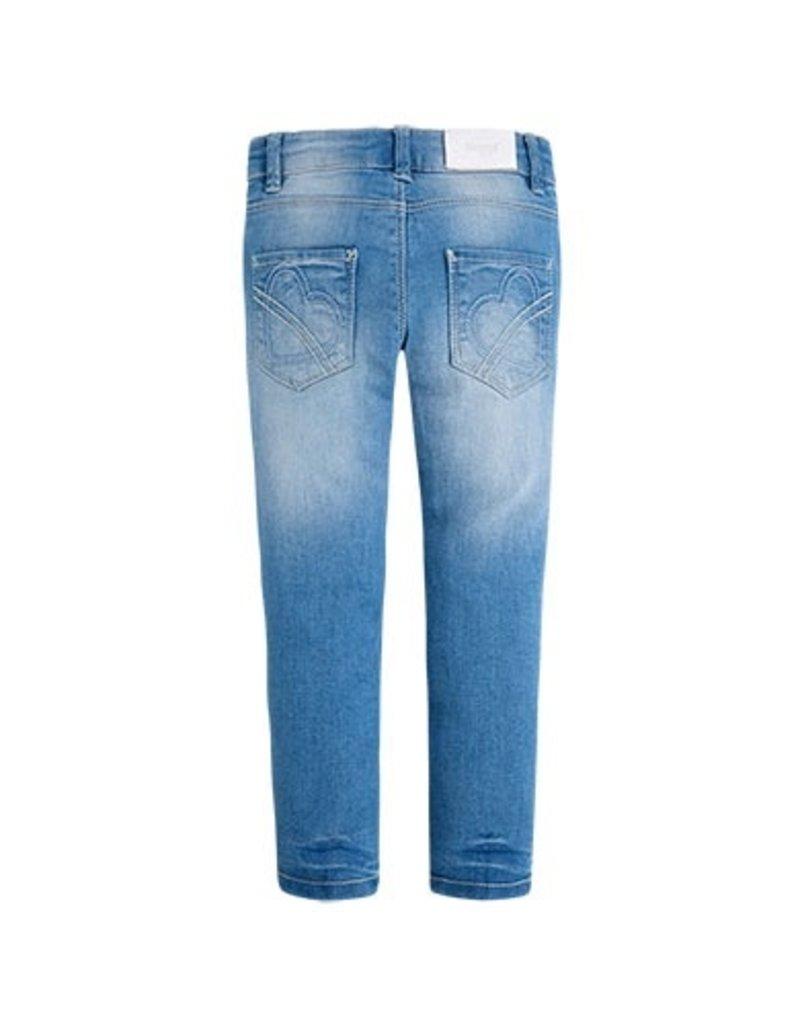 Mayoral Ruffle Pocket Jeans