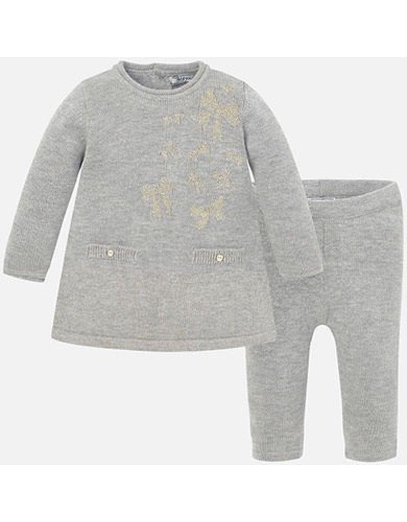 Mayoral SALE! Baby Sweater Dress Set