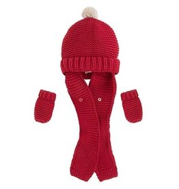 Mayoral SALE! Hat with Attached Scarf & Mittens by Mayoral