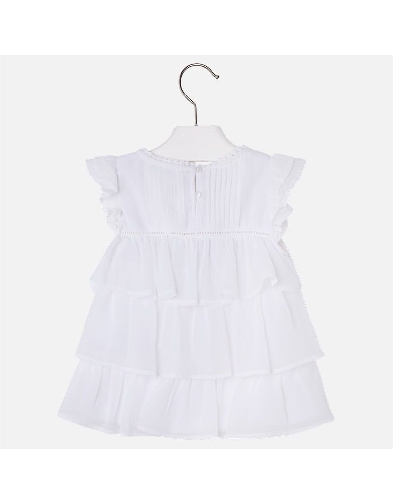 Mayoral Tiered Ruffle Top