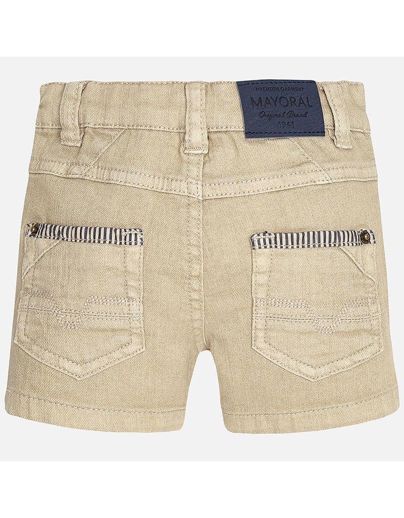 Mayoral Twill Baby Shorts