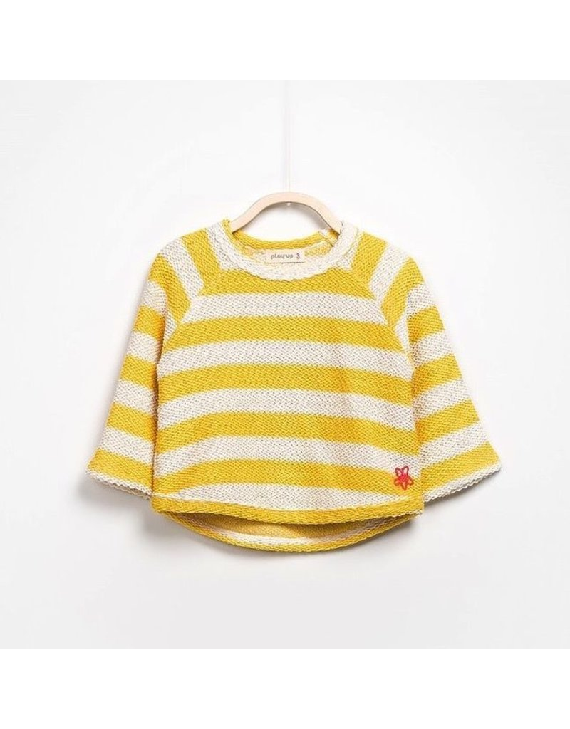Play Up Striped Sweater