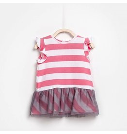 Play Up Striped  Combi Dress