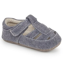 See Kai Run Jude Canvas Baby Sandal