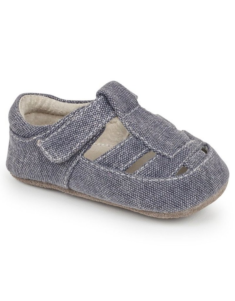 See Kai Run Jude Canvas Baby Sandal