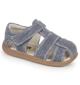 See Kai Run SALE!!! Jude Canvas Toddler Sandal