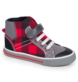 See Kai Run SALE! Kids Plaid Sneaker
