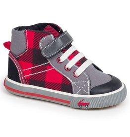 See Kai Run SALE! Toddler Plaid Sneaker