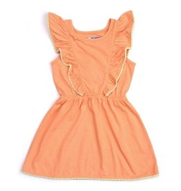 Kapital K Ruffled Yoke Pom-Pom Dress