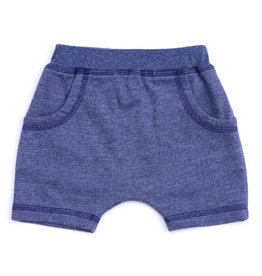 Kapital K Blue Storm French Terry Baby Shorts