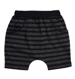 Kapital K Stormy Stripe French Terry Shorts