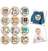 Sticky Bellies Sticky Bellies Milestone Stickers (neutral)