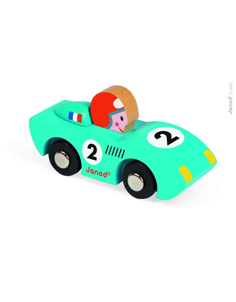 Janod Speed Wooden Racecar