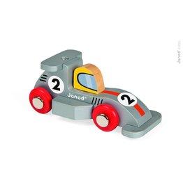 Janod Formula 1 Wooden Racecar