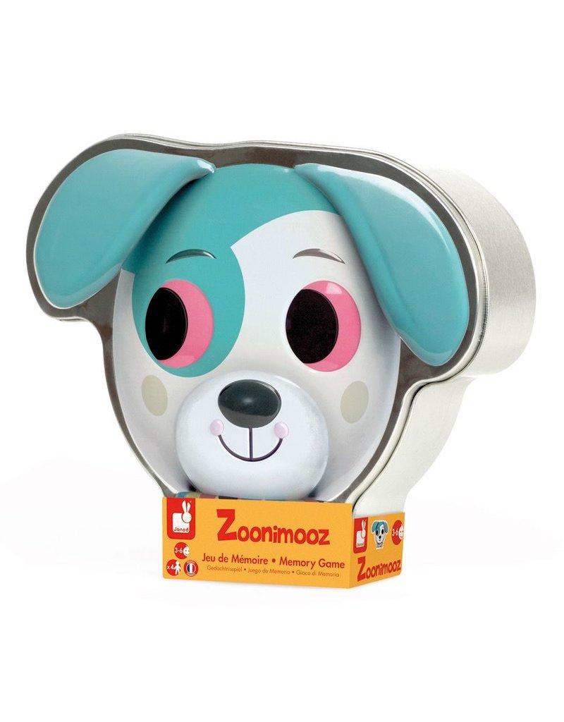 Janod Zoonimoonz Dog Tin Game
