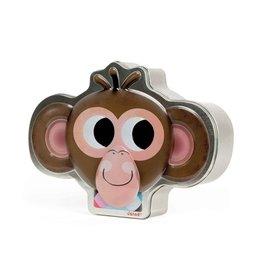 Janod Zoonimooz Monkey Tin Game