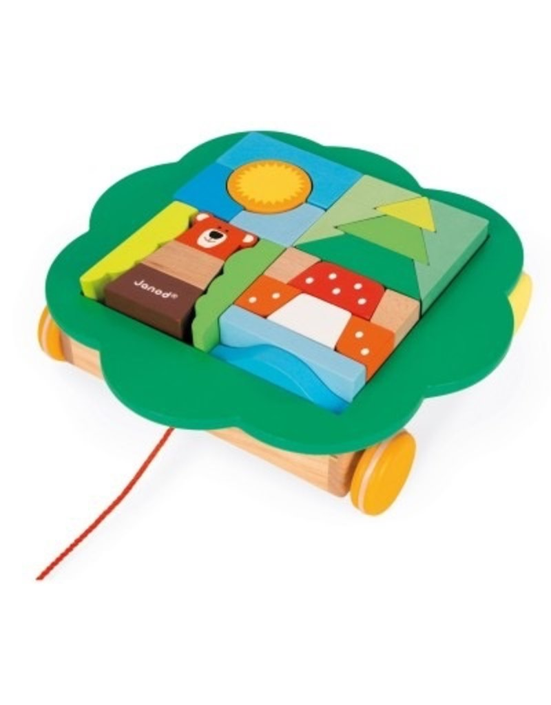 Janod Trolley Pull Along Toy