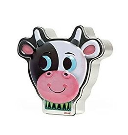 Janod Zoonimooz Cow Tin Game