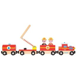 Janod Firefighters Story Train