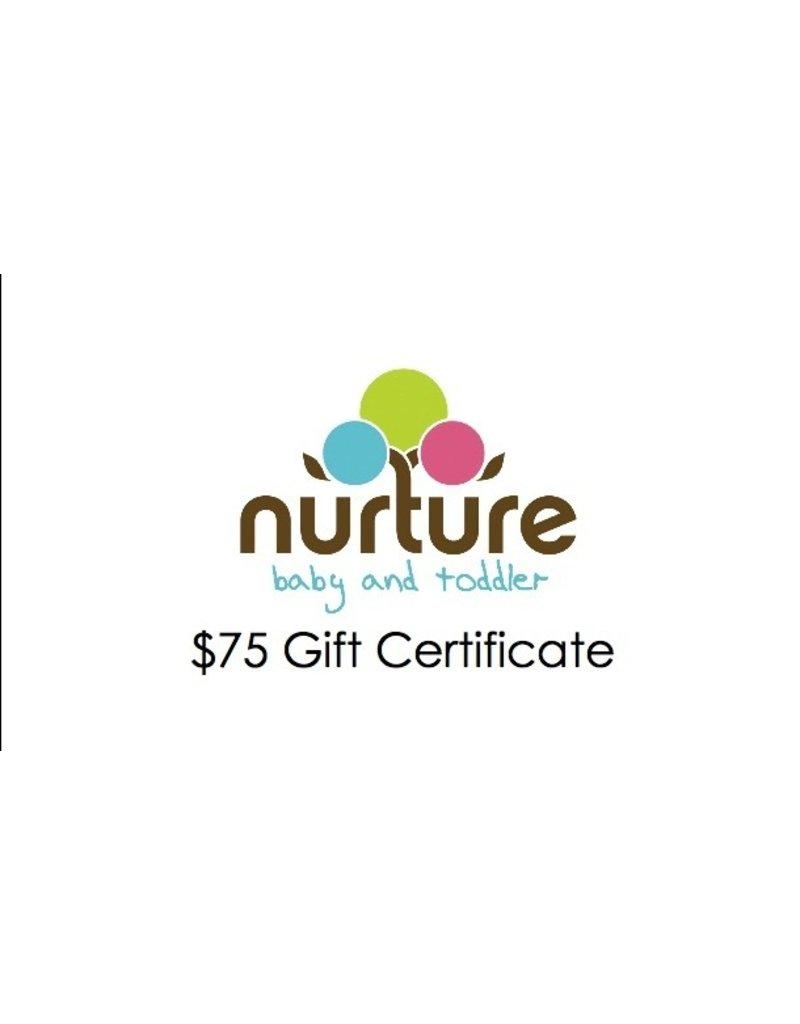Gift Card $75 Gift Card