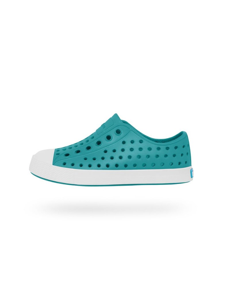 Native Shoes Jefferson Slip on Shoe in Iris Blue
