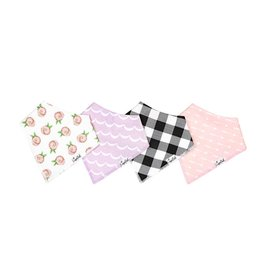 Copper Pearl Bandana Bib Set (pinks)