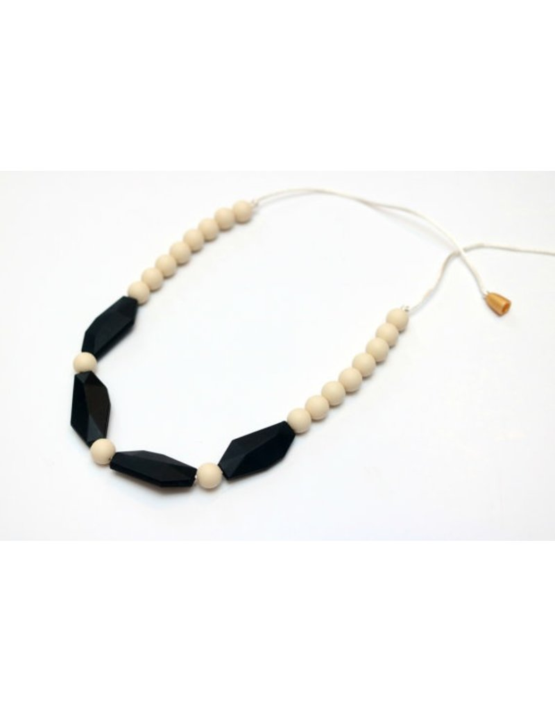 Color Block Teething Necklace