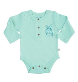 finn + emma Viking Detail Long Sleeve Bodysuit