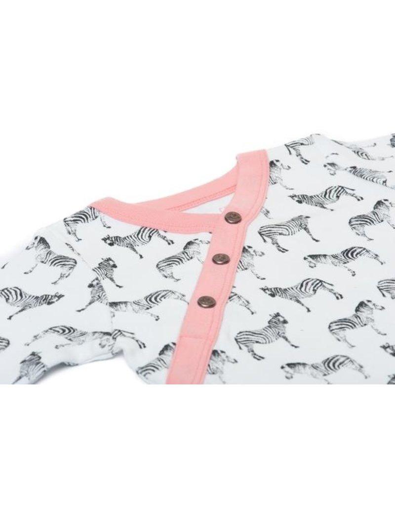 finn + emma Zebra Print Footie