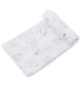 Angel Dear Bamboo Swaddle in Unicorns