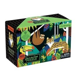 Rainforest Glow in the Dark 100pc Puzzle