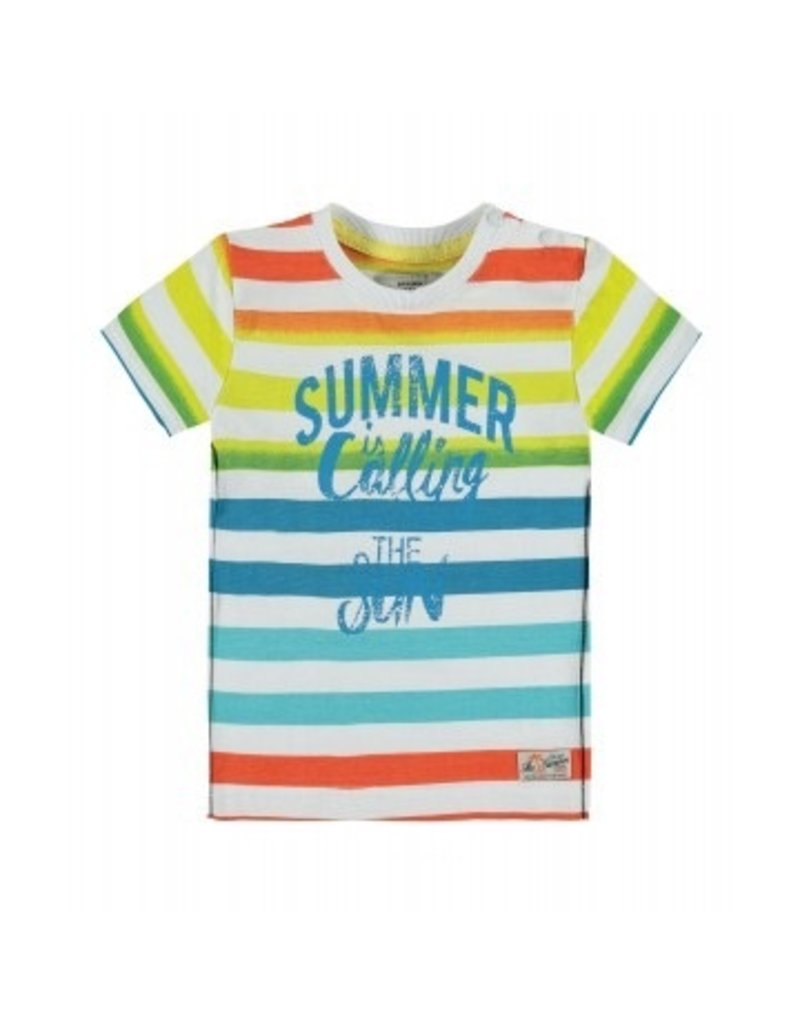 Kanz Here Comes the Sun Striped Tee