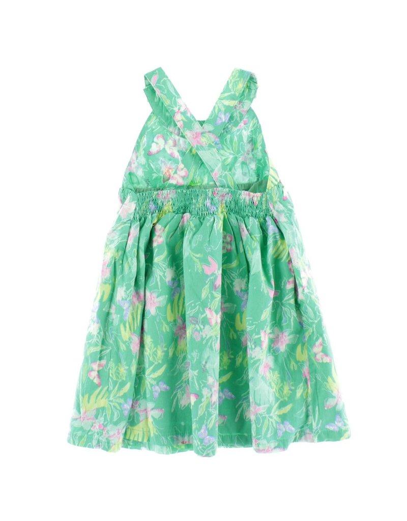 Kanz Tropical Cross Back Dress