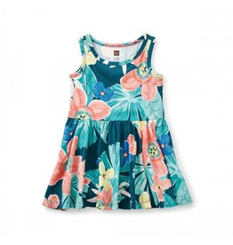 Tea Collection Coral Fern Baby Tank Dress