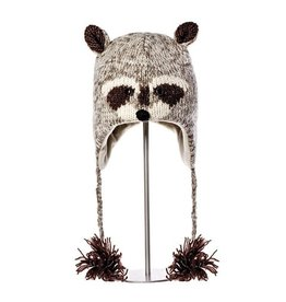 KnitWits Robbie the Raccoon Hat