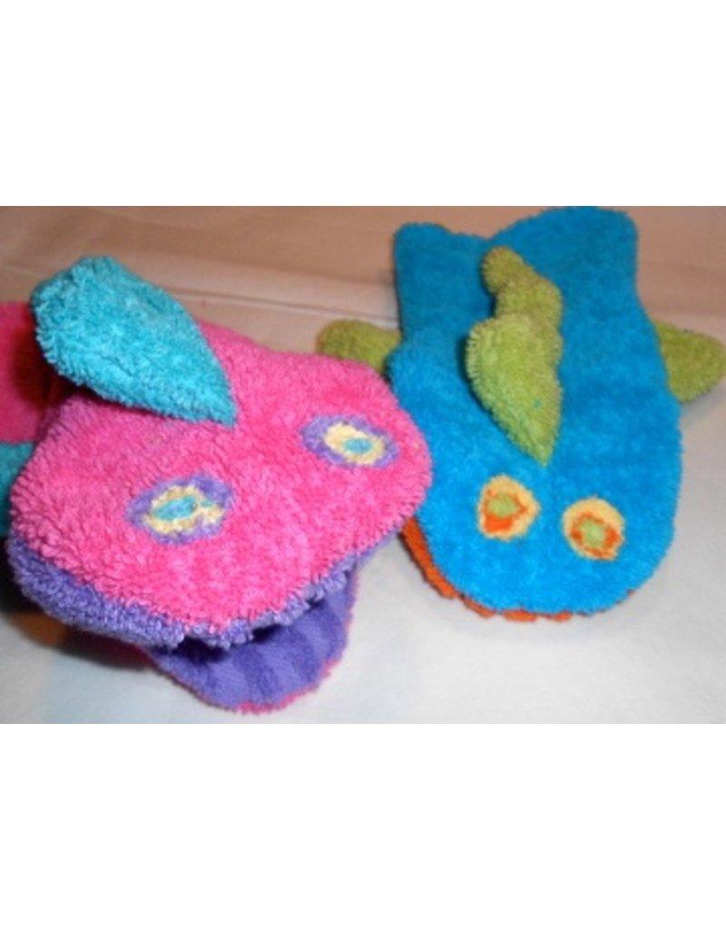 Handmade Fish Bath Puppet by Hannah's Daughter