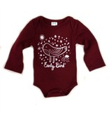 Kitten & Acorn Kitten & Acorn Early Bird Long Sleeve Bodysuit