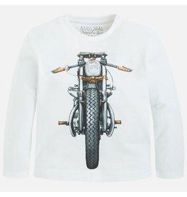 Mayoral Long Sleeve Motorcycle Graphic Tee