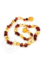 Baltic Amber Baroque Teething Necklace