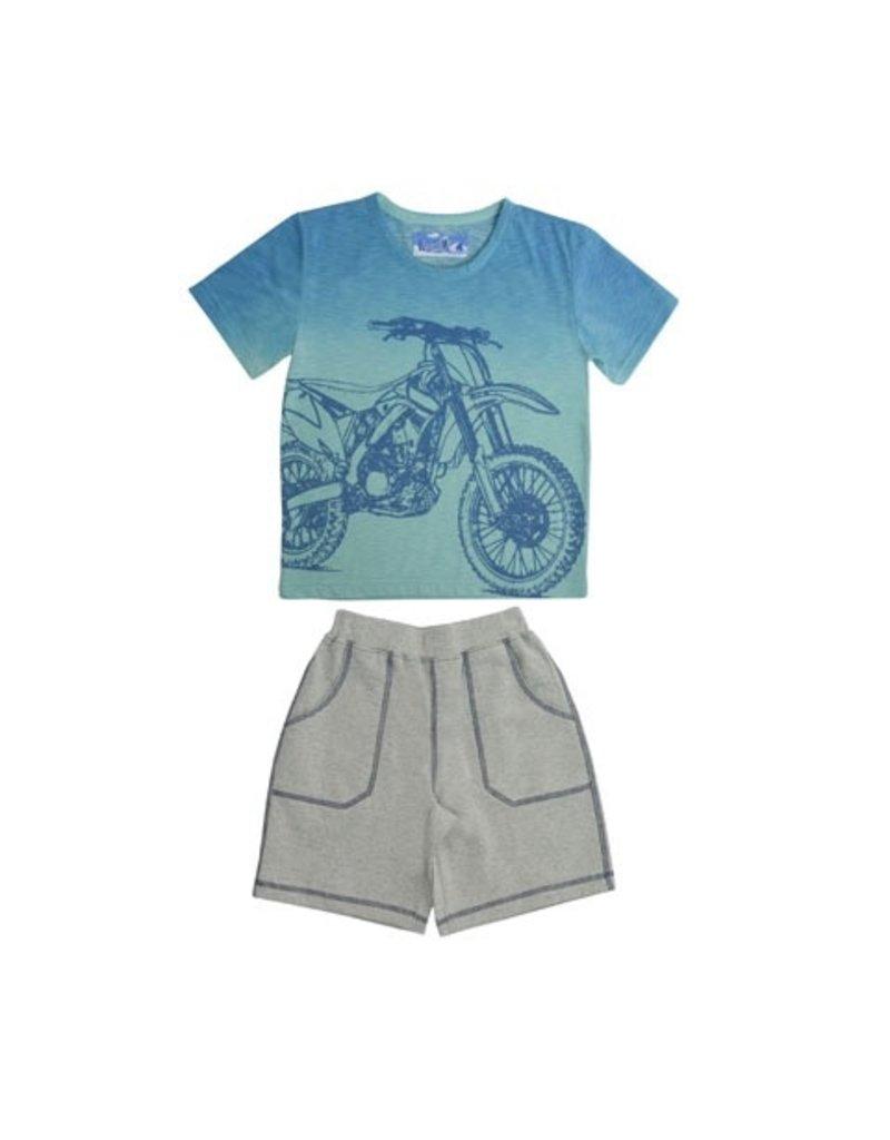 Kapital K Motorbike Tee & Short Set