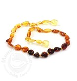 Baltic Amber Olive Teething Necklace