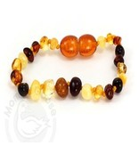 Baltic Amber Olive Teething Bracelet