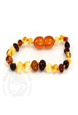 Baltic Amber Olive Teething Bracelet