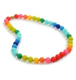 chewbeads Chewbeads Rainbow Teething Necklace